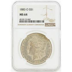 1882-S MS64 NGC Morgan Silver Dollar