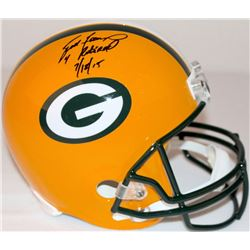 "Brett Favre Signed LE Packers Full-Size Helmet Inscribed ""4 Retired 7/18/15"" #6/44 (Favre Hologram"