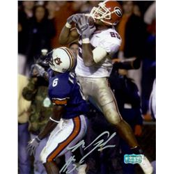 Michael Johnson Signed Georgia 8x10 Photo (Radtke COA)