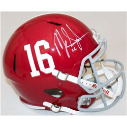 Mark Ingram Signed Alabama Full-Size Speed Helmet (Ingram Hologram)
