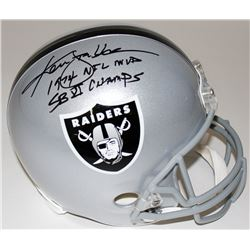 "Ken Stabler Signed Raiders Full-Size Helmet Inscribed ""1974 NFL MVP""  ""SB XI CHAMPS"" (Radtke COA)"