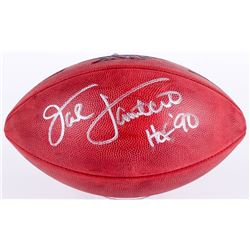 "Jack Lambert Signed Super Bowl XIV NFL Official Game Ball Inscribed ""HOF 90"" (JSA COA)"