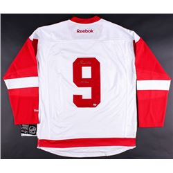 "Gordie Howe Signed Red Wings Jersey Inscribed ""Mr. Hockey"" (LOJO COA)"