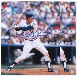 "Lot of (2) Dale Murphy Signed Braves 16x20 Photos Inscribed ""NL MVP 82, 83"" (Radtke)"