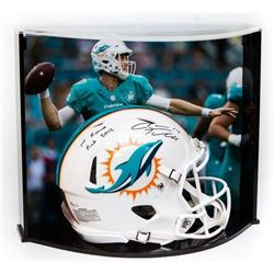 "Ryan Tannehill Signed LE Dolphins Full-Size Authentic Pro-Line Speed Helmet Inscribed ""1st Round Pic"