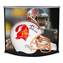 "Jameis Winston Signed LE Buccaneers Full-Size Authentic Pro-Line Throwback Helmet Inscribed ""2015 #1"