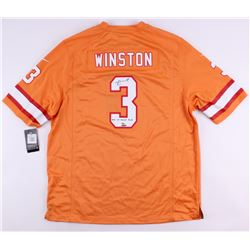 "James Winston Signed LE Buccaneers Nike Authentic On-Field Jersey Inscribed ""2015 1st Overall Pick"""