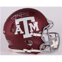 Johnny Manziel Signed Texas AM Aggies Full-Size Authentic Pro-Line Speed Helmet (Panini COA)