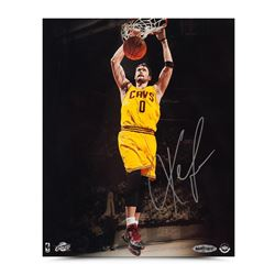 Kevin Love Signed Cavaliers Two-Handed Slam 8x10 Photo (UDA COA)