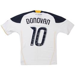 "Landon Donovan Signed LE Galaxy Jersey Inscribed ""2011 MLS CUP MVP"" (UDA COA)"