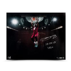 "LeBron James Signed Heat ""Christmas Jam"" 16x20 Photo Inscribed ""12.25.13 Win"" LE 25 (UDA COA)"