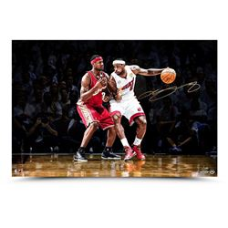 LeBron James Signed First  Ten 16x24 Photo LE 100 (UDA COA)