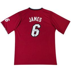 "LeBron James Signed Heat ""2013 Christmas"" Jersey LE 25 (UDA COA)"