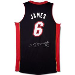 LeBron James Signed Heat Revolution 30 Jersey (UDA COA)
