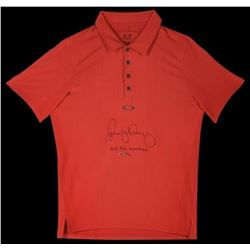 "Rory McIlroy Signed LE Oakley Polo Shirt Inscribed ""2012 PGA Champion"" (UDA COA)"
