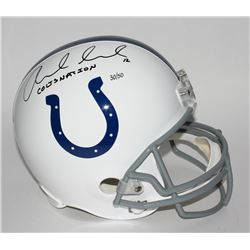 "Andrew Luck Signed LE Colts Full-Size Helmet Inscribed ""COLTS NATION"" (Panini COA)"