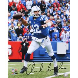 "Andrew Luck Signed LE Colts ""Sweep"" 16x20 Photo (Panini COA)"