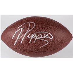 Jabrill Peppers Signed NFL Football (JSA COA)
