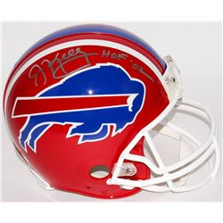 "Jim Kelly Signed Bills Full-Size Authentic Pro-Line Helmet Inscribed ""HOF '02"" (Radtke COA)"