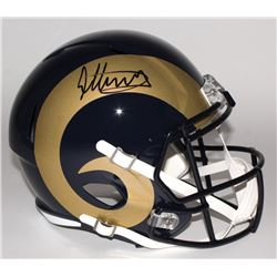 Todd Gurley Signed Rams Full-Size Speed Helmet (Radtke)