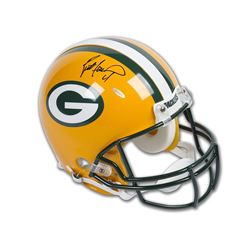 Brett Favre Signed Packers Full-Size Authentic Proline Helmet (UDA COA)
