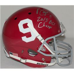"Amari Cooper Signed Alabama Full-Size Helmet Inscribed ""2013 BCS Champs"" (Radtke COA)"