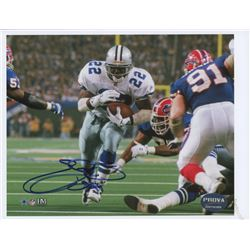 "Emmitt Smith Signed Cowboys 8.5""x11"" Photo (PROVA Hologram)"