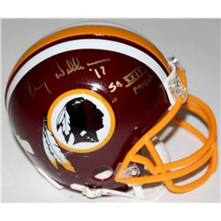 "Doug Williams Signed Redskins Mini-Helmet Inscribed ""SB XXII MVP"" (Radtke COA)"