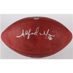 "Alfred Morris Signed ""The Duke"" Official NFL Game Ball (Radtke COA)"