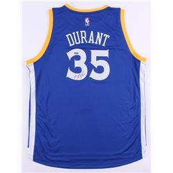 Kevin Durant Signed Warriors Authentic Adidas Jersey (Panini COA)