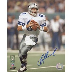 Troy Aikman Signed Cowboys 8x10 Photo (Aikman Hologram)