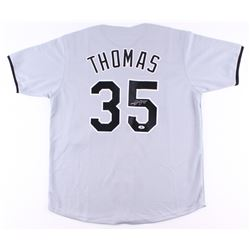 Frank Thomas Signed White Sox Jersey (Beckett COA)