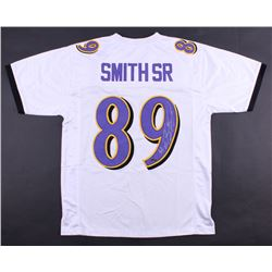 Steve Smith Sr. Signed Ravens Jersey (Smith Hologram)