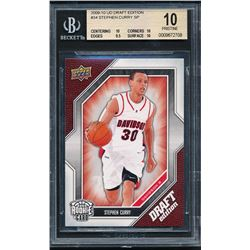 2009-10 Prestige #157 Stephen Curry RC (BGS 10)