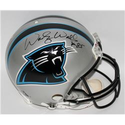 Wesley Walls Signed Panthers Authentic Pro-Line Full-Size Helmet (JSA COA)