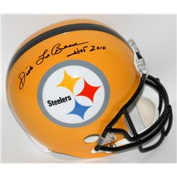 "Dick LeBeau Signed Steelers Full-Size Helmet Inscribed ""HOF 2010"" (Radtke Hologram)"