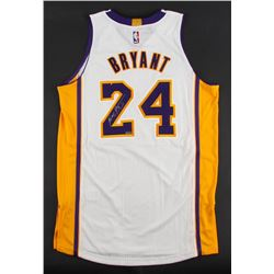 Kobe Bryant Signed Lakers Adidas Authentic Jersey (Panini COA)