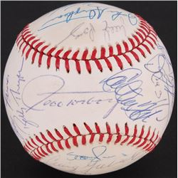 1991 White Sox OAL Baseball Team-Signed by (24) with Jeff Torborg, Carlton Fisk, Robin Ventura, Tim
