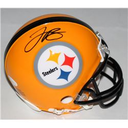 LeVeon Bell Signed Steelers Mini-Helmet (JSA COA)