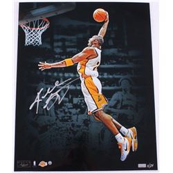 "Kobe Bryant Signed Limited Edition Lakers ""Dunk"" 16x20 Photo #24/24 (Panini COA)"