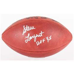 "Steve Largent Signed Signed Official NFL Game Ball Inscribed ""HOF '95"" (JSA COA)"
