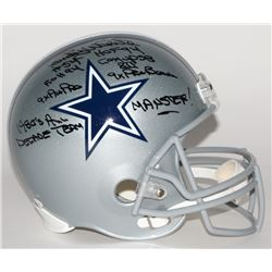 Randy White Signed Cowboys Full-Size Helmet With (5) Inscriptions (JSA COA)