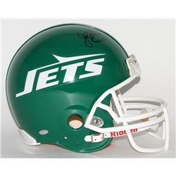 John Riggins Signed Jets Throwback Full-Size Authentic Pro-Line Helmet (Steiner COA)