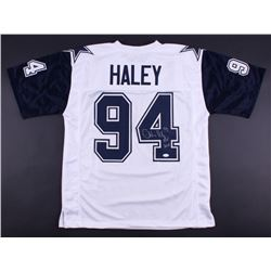 "Charles Haley Signed Cowboys Thanksgiving Jersey Inscribed ""HOF 2015"" (JSA COA)"