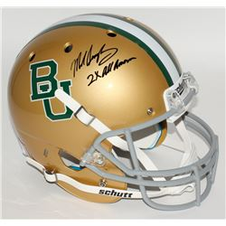"Mike Singletary Signed Baylor Bears Full-Size Helmet Inscribed ""2X All American"" (JSA COA)"