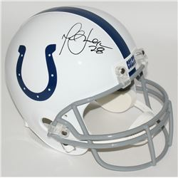 Marshall Faulk Signed Colts Full-Size Helmet (JSA COA)