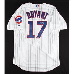 Kris Bryant Signed Cubs Majestic Authentic Jersey (MLB  Fanatics Hologram)