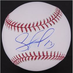Salvador Perez Signed OML Baseball (MLB Hologram)