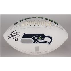 Eddie Lacy Signed Seahawks Logo Football (Lacy Hologram)