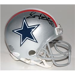 Tony Dorsett Signed Cowboys Mini-Helmet (JSA COA)